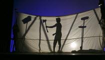 PAUL BUNYAN   music: Benjamin Britten   libretto: W H Auden   conductor: Peter Robinson   design: Jason Southgate   lighting: David Howe   director: William Kerley   Paul grows into a man British Yo...