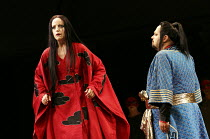 TURANDOT   by Puccini   conductor: Henrik Nanasi   design: Sally Jacobs   lighting: F. Mitchell Dana   choreography: Kate Flatt   original director: Andrei Serban   Lise Lindstrom (Princess Turandot)...