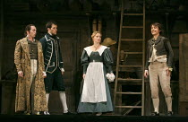 LE NOZZE DI FIGARO   (The Marriage of Figaro)   by Mozart   conductor: John Eliot Gardiner   design: Tanya McCallin   lighting: Paule Constable   director: David McVicar ~l-r: Christopher Maltman (Cou...