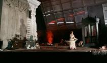 ELEKTRA   by Richard Strauss   conductor: Andris Nelsons   set design, lighting & direction: Charles Edwards   costumes: Brigitte Reifenstuel   closing scene - front left: Christine Goerke (Elektra)...