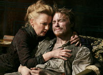 GHOSTS   by Ibsen   adapted & directed by Richard Eyre   design: Tim Hatley  lighting: Peter Mumford   Lesley Manville (Mrs Alving), Jack Lowden (Oswald Alving)  Almeida Theatre, London N1   03/10/...