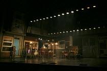 THE COMMITMENTS   by Roddy Doyle   design: Soutra Gilmour   lighting: Jon Clark   choreography: Ann Yeedirector: Jamie Lloyd ~stage,set,empty,pub,bar,Ireland,Irish,Dublin~Palace Theatre, London W1   0...