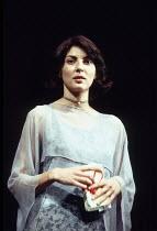 HAMLET   by Shakespeare   design: Lucy Hall   lighting: Joe Atkins   director: Peter Hall   Gina Bellman (Ophelia) Peter Hall Company / Gielgud Theatre, London W1     04/11/1994