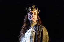 RICHARD II   by Shakespeare   design: Stephen Brimson Lewis   lighting: Tim Mitchell   director: Gregory Doran ~II/i: David Tennant (King Richard II) ~Royal Shakespeare Company (RSC) / Royal Shakespea...