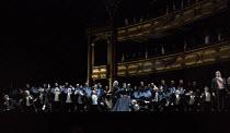 LES VEPRES SICILIENNES (Sicilian Vespers)   by Verdi   conductor: Antonio Pappano   set design: Philipp Furhofer   costumes: Gesine Vollm   lighting: Anders Poll   choreography: Andre de Jong   direct...