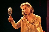 THE DUCHESS OF MALFI   by John Webster   design: Tom Piper   lighting: Howard Harrison   director: Philip Franks   Juliet Stevenson (The Duchess of Malfi) Greenwich Theatre, London SE10   13/02/1995...
