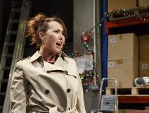 THE NIGHT BEFORE CHRISTMAS   by Antony Neilson   design: Michael Vale   lighting: Malcolm Rippeth   director: Steve Marmion   Rebecca Atkinson (Cherry) Soho Theatre, London W1   05/12/2012