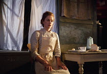 THE EL. TRAIN   by Eugene O'Neill ~'Before Breakfast' - directed by Sam Yates: Ruth Wilson (Mrs Rowland)~Hoxton Hall, London N1   12/12/2013