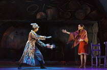 CINDERELLA   choreography & direction: David Nixon   set design: Duncan Hayler   costumes: David Nixon & Julie Anderson   lighting: Tim Mitchell ~the Magician comes to transform Cinderella: Hironao Ta...