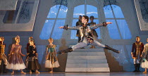 CINDERELLA   choreography & direction: David Nixon   set design: Duncan Hayler   costumes: David Nixon & Julie Anderson   lighting: Tim Mitchell ~the Ball: Tobias Batley (Prince Mikhail)~Northern Ball...
