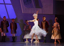 CINDERELLA   choreography & direction: David Nixon   set design: Duncan Hayler   costumes: David Nixon & Julie Anderson   lighting: Tim Mitchell ~the Ball: Martha Leebolt (Cinderella)~Northern Ballet...