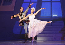 CINDERELLA   choreography & direction: David Nixon   set design: Duncan Hayler   costumes: David Nixon & Julie Anderson   lighting: Tim Mitchell ~the Ball: Tobias Batley (Prince Mikhail), Martha Leebo...