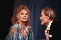 THE APPLECART   by G B Shaw   design: Alexander McPherson   lighting: Mark Pritchard   director: Val May   Susannah York (Orinthia), Peter O'Toole (King Magnus)  Theatre Royal, Haymarket / London SW...
