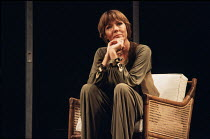 NIGHT AND DAY   by Tom Stoppard   design: Carl Toms   lighting: Robert Bryan   director: Peter Wood ~~Diana Rigg (Ruth Carson)~Phoenix Theatre, London WC2   11/1978 ~(c) Donald Cooper/Photostage   pho...