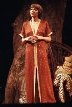 NIGHT AND DAY   by Tom Stoppard   design: Carl Toms   lighting: Robert Bryan   director: Peter Wood ~~Diana Rigg (Ruth Carson) ~Phoenix Theatre, London WC2   11/1978 ~(c) Donald Cooper/Photostage   ph...