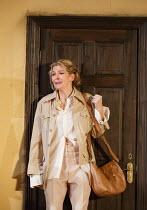 DONKEY'S YEARS   by Michael Frayn   design: Polly Sullivan   lighting: Emma Chapman   director: Lisa Spirling ~Jemma Redgrave (Lady Driver, MA)~Rose Theatre Kingston / Surrey, England   12/02/2014
