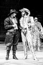 THE TAMING OF THE SHREW    by Shakespeare   design: Bob Crowley   lighting: Brian Harris   director: Barry Kyle  Alun Armstrong (Petruchio), John Bowe (Tranio)Royal Shakespeare Company (RSC) / Royal...