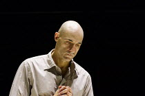 A VIEW FROM THE BRIDGE   by Arthur Miller   set & lighting design: Jan Versweyveld   costumes: An D'Huys   director: Ivo Van Hove ~Mark Strong (Eddie Carbone)   ~The Young Vic (YV), London SE1   11/04...