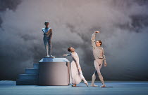 THE WINTER'S TALE   after Shakespeare   choreography: Christopher Wheeldon   music: Joby Talbot   design: Bob Crowley   lighting: Natasha Katz   conductor: David Briskin ~final scene, a penitent Leont...
