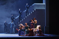 THE WINTER'S TALE   after Shakespeare   choreography: Christopher Wheeldon   music: Joby Talbot   design: Bob Crowley   lighting: Natasha Katz   conductor: David Briskin ~the court of Sicilia - standi...
