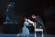 THE WINTER'S TALE   after Shakespeare   choreography: Christopher Wheeldon   music: Joby Talbot   design: Bob Crowley   lighting: Natasha Katz   conductor: David Briskin ~Leontes is presented with Her...