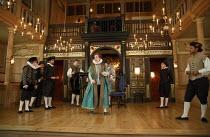 THE MALCONTENT   by John Marston   director: Caitlin McLeod  ~centre: Ben Lynn (Pietro)~The Globe Young Players / Sam Wanamaker Playhouse / Shakespeare's Globe (SG), London SE1   10/04/2014