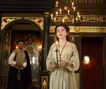THE MALCONTENT   by John Marston   director: Caitlin McLeod  ~Martha Lily Dean (Aurelia)~The Globe Young Players / Sam Wanamaker Playhouse / Shakespeare's Globe (SG), London SE1   10/04/2014