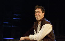 HENRY IV part i   by Shakespeare   design: Stephen Brimson Lewis   lighting: Tim Mitchell   director: Gregory Doran ~Tavern scene: Alex Hassell (Henry, Prince of Wales / Hal) ~Royal Shakespeare Compan...