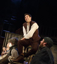 HENRY IV part i   by Shakespeare   design: Stephen Brimson Lewis   lighting: Tim Mitchell   director: Gregory Doran   Tavern scene: Alex Hassell (Henry, Prince of Wales / Hal)  Royal Shakespeare Com...