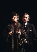SINGLE SPIES - AN ENGLISHMAN ABROAD   by Alan Bennett   design: Bruno Santini   lighting: Paul Pyant   director: Alan Bennett   Prunella Scales (Coral), Simon Callow (Burgess)  Lyttelton Theatre /...