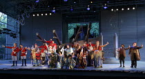 VERT-VERT   by Offenbach   conductor: David Parry   designer: Francis O'Connor   lighting: Howard Hudson   director: Martin Duncan   Act 2 finale Garsington Opera at Wormsley / nr. High Wycombe, Eng...