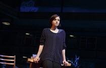 SKYLIGHT   by David Hare   design: Bob Crowley   lighting: Natasha Katz   director: Stephen Daldry ~~Carey Mulligan (Kyra Hollis)~Wyndham's Theatre, London WC2   press night: 18/06/2014