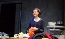 SKYLIGHT   by David Hare   design: Bob Crowley   lighting: Natasha Katz   director: Stephen Daldry   Carey Mulligan (Kyra Hollis) Wyndham's Theatre, London WC2   press night: 18/06/2014