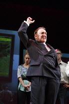 GREAT BRITAIN   by Richard Bean   design: Tim Hatley   lighting: Neil Austin   director: Nicholas Hytner ~Dermot Crowley (Paschal O'Leary)~Lyttelton Theatre / National Theatre (NT), London SE1   30/06...