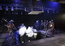 WONDERLAND   by Beth Steel   design: Ashley Martin Davis   lighting: Peter Mumford   director: Edward Hall   making repairs Hampstead Theatre (HT), London NW3   01/07/2014