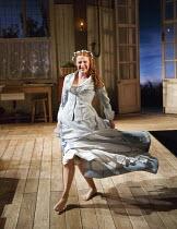 MISS JULIE   by Strindberg   in a new version by Rebecca Lenkiewicz   design: Andrew D Edwards   lighting: James Whiteside   director: Jamie Glover   Rosalie Craig (Miss Julie) Minerva Theatre / Chi...