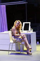 A STREETCAR NAMED DESIRE   by Tennessee Williams   set design: Magda Willi   costumes: Victoria Behr   lighting: Jon Clark   director: Benedict Andrews ~Gillian Anderson (Blanche DuBois)~The Young Vic...