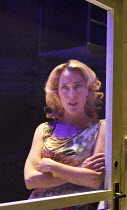 A STREETCAR NAMED DESIRE   by Tennessee Williams   set design: Magda Willi   costumes: Victoria Behr   lighting: Jon Clark   director: Benedict Andrews ~Gillian Anderson (Blanche DuBois - shot through...
