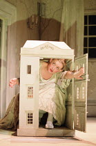 A DOLL'S HOUSE   by Ibsen   design: Angela Davies   lighting: Tina MacHugh   director: Polly Teale ~Anne-Marie Duff (Nora)~Shared Experience / New Ambassadors, London WC2    02/11/2000