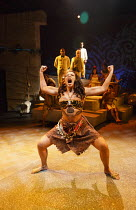 PITCAIRN   by Richard Bean   design: Tim Shortall   lighting: Johanna Town   director: Max Stafford-Clark ~Lois Chimimba (Te Lahu)~co-production with Out of Joint & Shakespeare's Globe / Minerva Theat...