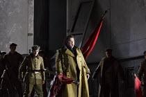 OTELLO   by Verdi   after Shakespeare   conductor: Edward Gardner   design: Jon Morrell   lighting: Adam Silverman   director: David Alden ~Otello's entrance: Stuart Skelton (Otello)~English National...