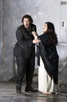 OTELLO   by Verdi   after Shakespeare   conductor: Edward Gardner   design: Jon Morrell   lighting: Adam Silverman   director: David Alden ~Stuart Skelton (Otello), Leah Crocetto (Desdemona) ~English...