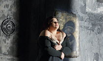 OTELLO   by Verdi   after Shakespeare   conductor: Edward Gardner   design: Jon Morrell   lighting: Adam Silverman   director: David Alden ~Leah Crocetto (Desdemona)~English National Opera (ENO) / Lon...