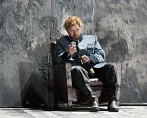 OTELLO   by Verdi   after Shakespeare   conductor: Edward Gardner   design: Jon Morrell   lighting: Adam Silverman   director: David Alden ~Allan Clayton (Cassio)~English National Opera (ENO) / London...
