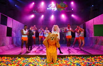 TEH INTERNET IS A SERIOUS BUSINESS   by Tim Price   design: Chloe Lamford   lighting: James Farncombe   director: Hamish Pirie   left, in dressing gown: Kevin Guthrie (Jake)   front centre: Kerr Loga...