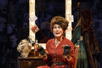 SINGLE SPIES   by Alan Bennett   design: Francis O'Connor   lighting: Paul Pyant   director: Sarah Esdaile   AN ENGLISHMAN ABROAD: Helen Schlesinger (Coral Browne) Rose Theatre Kingston / Surrey, En...