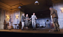THE CHERRY ORCHARD   by Chekhov   in a new version by Simon Stephens   set design: Vicki Mortimer   costumes: Sussie Juhlin-Wallen   lighting: James Farncombe   director: Katie Mitchell <br> l-r: Cat...