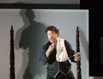 THE MARRIAGE OF FIGARO (Le nozze di Figaro)   by Mozart   conductor: Jaime Martin   design: Peter McIntosh   lighting: Jean Kalman   director: Fiona Shaw    David Stout (Figaro)  English National Op...