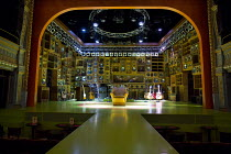 SUNNY AFTERNOON   original story, music & lyrics: Ray Davies   writer: Joe Penhall   design: Miriam Buether   lighting: Rick Fisher   choreographer: Adam Cooper   director: Edward Hall ~stage,set,full...