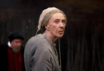 THE WITCH OF EDMONTON   by Dekker, Ford & Rowley   design: Niki Turner   lighting: Tim Mitchell   director: Gregory Doran ~Eileen Atkins (Mother Sawyer) ~Royal Shakespeare Company (RSC) / Swan Theatre...